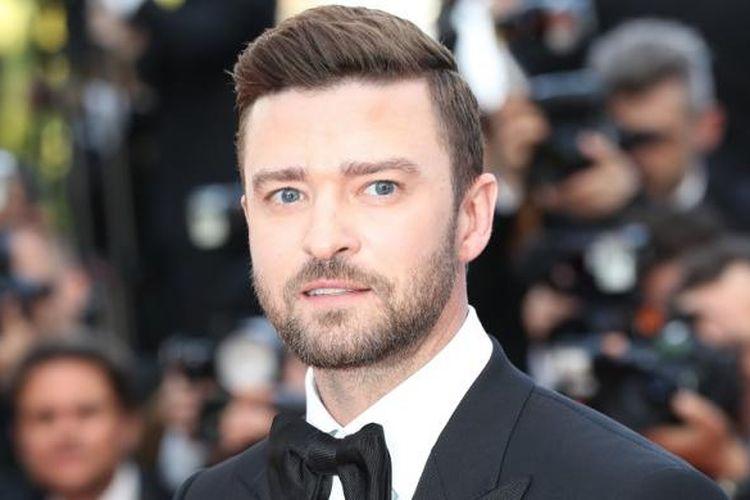 Aktor dan penyanyi Justin Timberlake menghadiri acara pembukaan Festival Film Cannes di Cannes, Perancis, Rabu (11/5/2016).