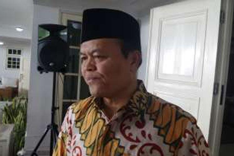 Wakil Ketua MPR RI Hidayat Nur Wahid di kediamannya di Kemang, Jakarta Selatan, Kamis (7/7/2016).