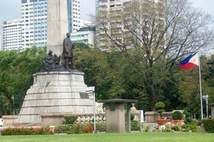 Rizal Park di Manila, Filipina.