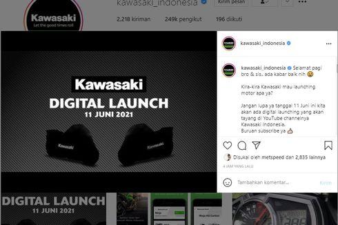 Siap-siap, Kawasaki Bakal Luncurkan Motor Baru