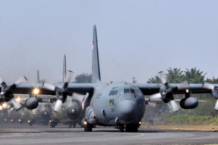 C-130 Hercules TNI AU.