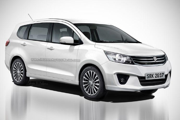 Rendering Suzuki Ertiga Baru