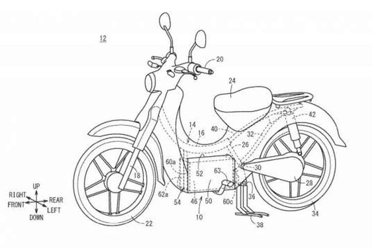 Honda Super Cub Electric