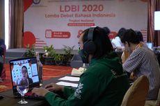 LDBI dan NSDC 2020, Mengasah Kemampuan Berpikir Kritis lewat Kompetisi Debat