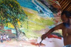 Teater Bayu Wardhana dalam Lukisan On The Spot