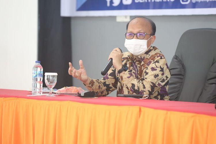 Sekretaris Jenderal (Sekjen) Kementerian Ketenagakerjaan (Kemnaker) Anwar Sanusi.