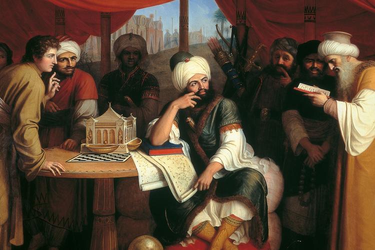 Ilustrasi masa pemerintahan Kekhalifahan Abbasiyah