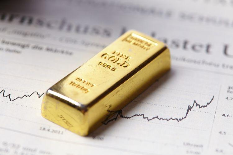 Ilustrasi investasi emas