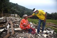 147 Rumah di Purwakarta Rata dengan Tanah Diduga akibat Tanah Bergeser