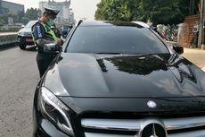 Ada 33 Pengemudi Kendaraan yang Melanggar Ganjil Genap di Empat Wilayah Jakarta Pusat