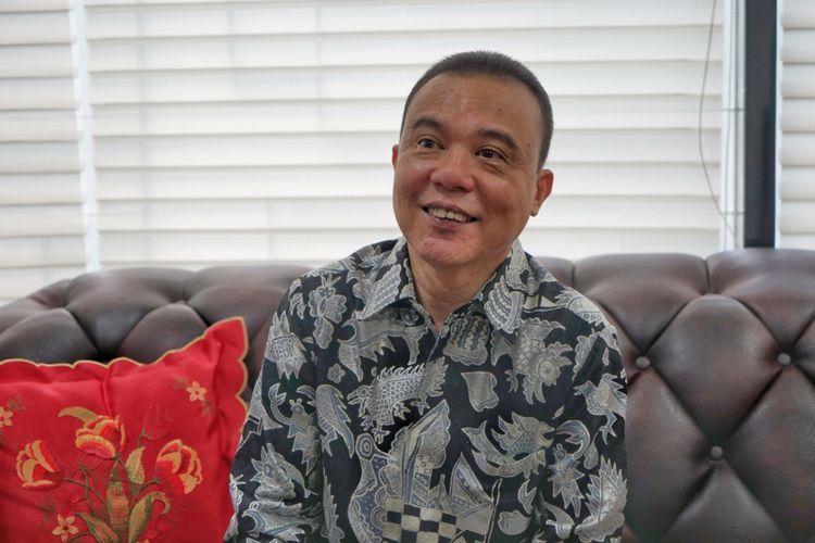 Wakil Ketua Umum Partai Gerindra sekaligus Ketua Mahkamah Kehormatan Dewan (MKD) DPR, Sufmi Dasco Ahmad, di Kompleks Parlemen, Senayan, Jakarta, Senin (28/5/2018)