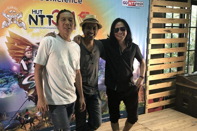 Slank saat dijumpai di Potlot kawasan Duren Tiga, Jakarta Selatan pada Kamis (12/12/2019).
