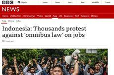 Demo Tolak UU Cipta Kerja Disorot Media Asing, Begini Kata Mereka...