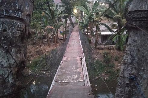 Wali Kota Jaksel Belum Bisa Memastikan Perbaikan Jembatan Reyot di Serengseng Sawah
