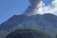 Gunung Ile Lewotolok di Lembata Meletus, Tinggi Kolom Abu Capai 1.000 Meter