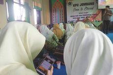 KPU Jombang Ajak Pemilih Millenial Cerdas Kenali Caleg