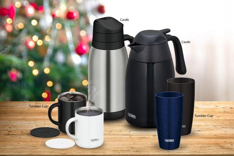 Thermos Carafe Series dan Thermos Mug.