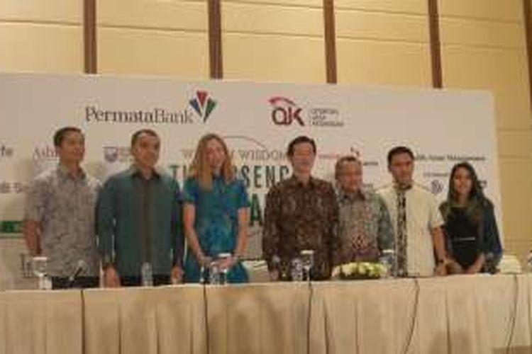 Konferensi pers Wealth Wisdom: The Essence of Wealth di Jakarta, Rabu (11/5/2016)