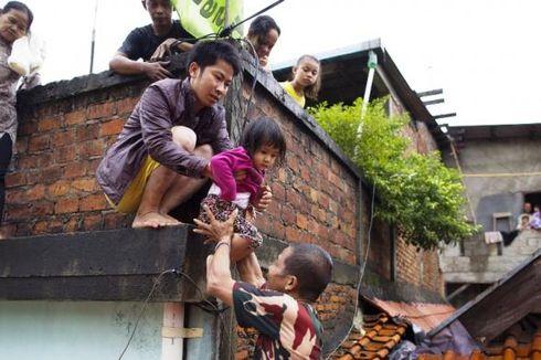 BNPB: Ribuan Jiwa Kena Dampak Banjir Jakarta