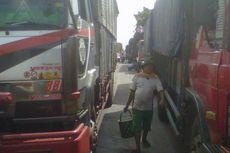 Ribuan Kendaraan Tertahan di Pantura Indramayu