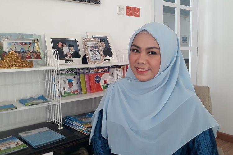 Zita Anjani, anggota DPRD DKI Jakarta terpilih periode 2019-2022 dari Fraksi PAN. Foto diambil Kamis (15/8/2019).