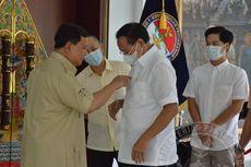 Prabowo: Jadi Panggilan Pemimpin untuk Memikirkan Kesejahteraan Keluarga yang Ditinggalkan Prajurit
