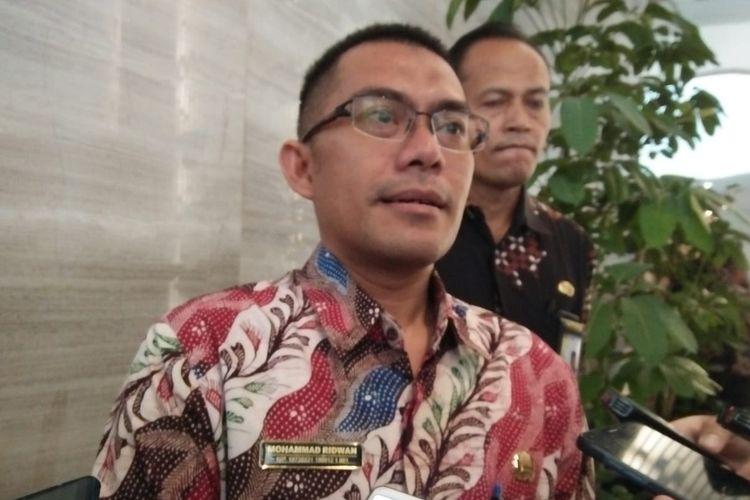Kepala Biro Humas Badan Kepegawaian Negara (BKN) Muhammad Ridwan di Hotel Bidakara, Jakarta, Selasa (30/7/2019)