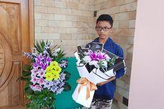 Sempat Dilarang Orangtua, Kini Bisnis Karangan Bunga Siswa SMK Ini Hasilkan Rp 1 Juta Per Hari