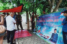 Spanduk King of The King yang Mirip Sunda Empire di Kota Tangerang Ditertibkan