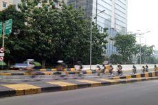 Uji Coba Lintasan Road Bike JLNT Kampung Melayu-Tanah Abang Dihentikan Sementara