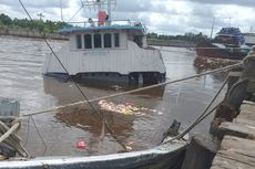 Fakta Kapal Sembako Tengelam di Sungai Siak, Muatan Dijarah hingga Kerugian Capai Rp 4 Miliar