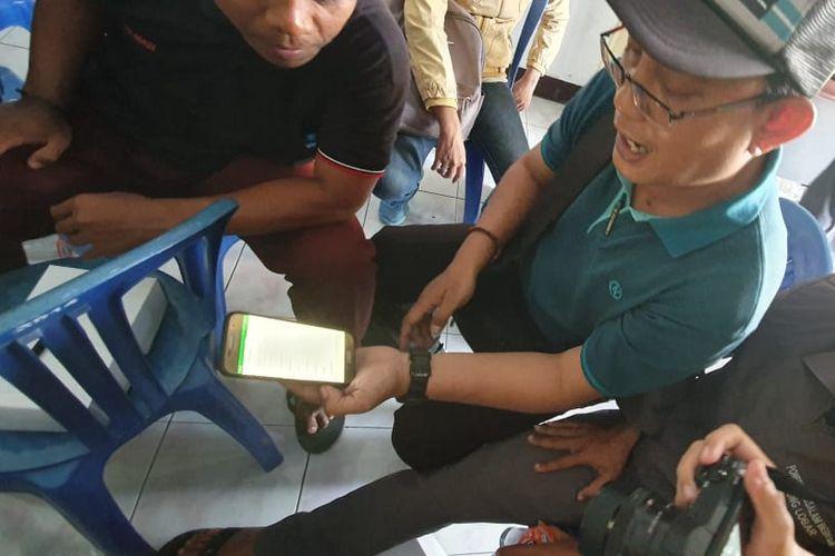 Pelatihan dan workshop pemasaran online dari Dosen Vokasi UI ditutup dengan pembukaan Toko Online Nyiur Lombok dan Kloving di Lombok Barat (16-19/8/2019).