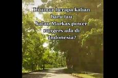 Viral Bangunan Disebut Markas Power Ranger Ada di Indonesia, Benarkah?