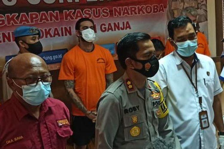WN Italia Pemilik Kokain di Bali (Kuning)