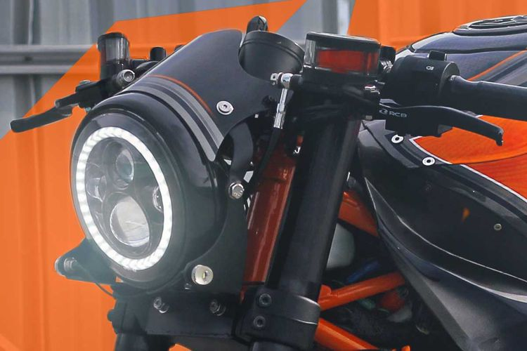 KTM RC 250 bergaya cafe racer garapan Minority Custom Motorcycles