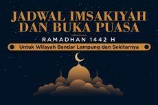 INFOGRAFIK: Jadwal Imsak dan Buka Puasa Bandar Lampung Ramadhan 2021
