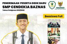 Pendaftaran SMP Gratis Cendekia Baznas Dibuka, Bebas Biaya Hidup