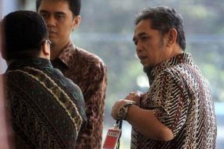 Mantan Direktur Operasional I PT Adhi Karya, kontraktor utama proyek Hambalang, Teuku Bagus Mohammad Noor.
