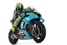 VIDEO - Aksi Valentino Rossi dengan Motor Baru Petronas Yamaha SRT