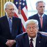 """Pemimpin Mayoritas Senat Minta Politisi Republik Pakai """"Hati Nurani"""" Saat Putuskan Pemakzulan Trump"""
