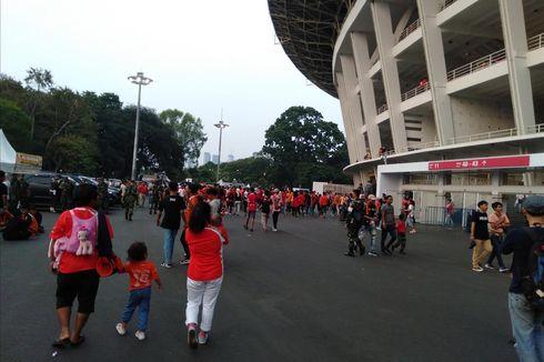 Persija Vs Persib Berakhir 1-1, JakMania Pulang dengan Tertib