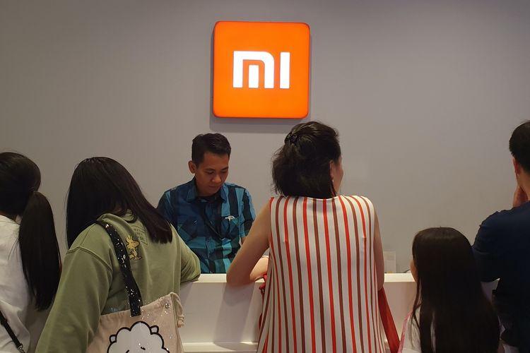 Authorized Mi Store di salah satu pusat perbelanjaan di Jakarta.