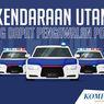 INFOGRAFIK: 7 Kendaraan Utama yang Dapat Pengawalan Polisi