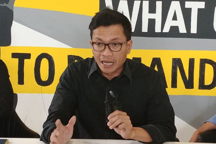 Ketua Amnesty International Usman Hamid