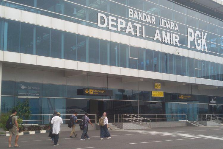 Bandara Depati Amir Pangkal Pinang Kepulauan Bangka Belitung.