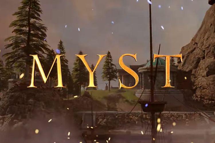 Ilustrasi Myst edisi VR.