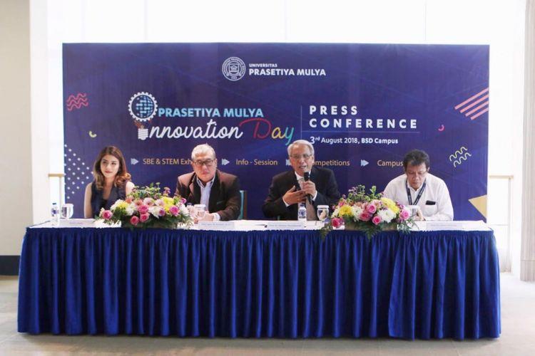 Para pembicara dalam Prasmul Innovation Day 2018.