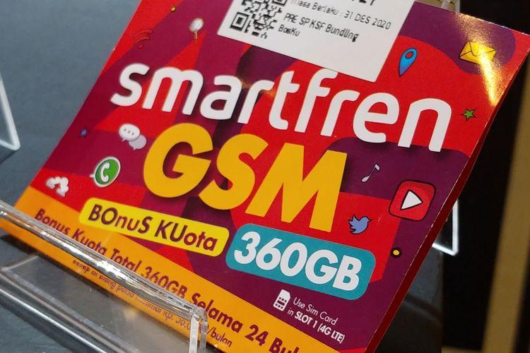 Kartu perdana Smartfren Bosku.