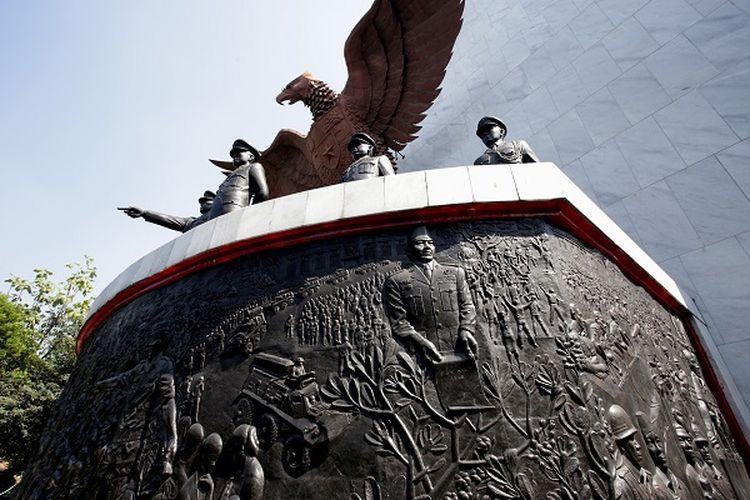 Monumen Pancasila Sakti, Lubang Buaya, Jakarta Timur DOK. Shutterstock
