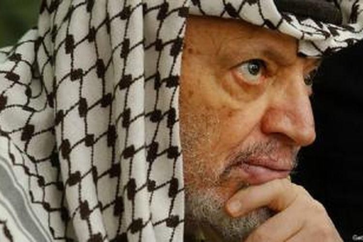 Makam Arafat dibongkar November 2012 untuk meneliti penyebab kematiannya.